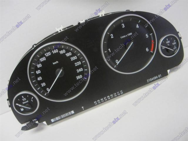BMW F10 - F11 - F12 Dashboard instrument cluster repair instruct