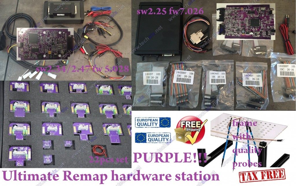 Ultimate Remap hardware station